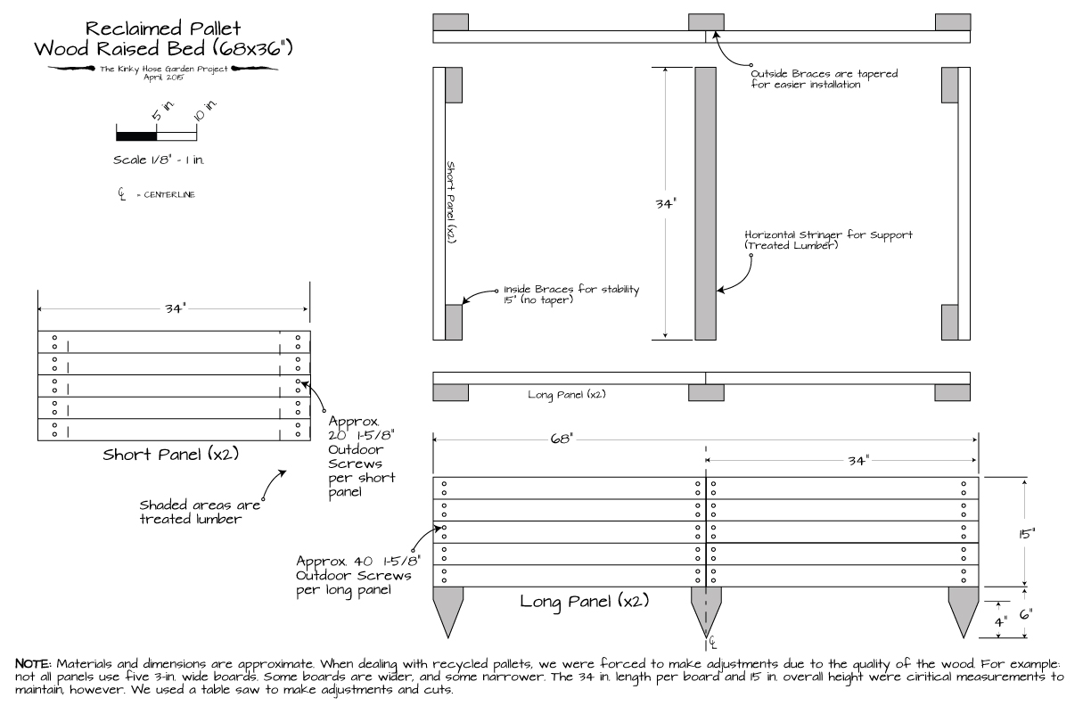 pallet board dimensions. raised-bed-2d-plan pallet board dimensions